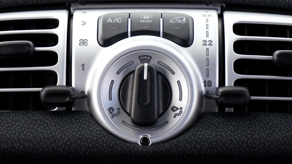 climatisation d'une voiture